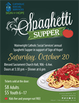 Wainwright Spaghetti Supper